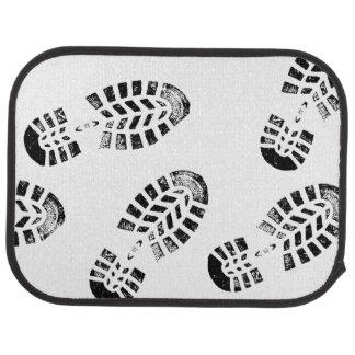 Car Mats with Footprints