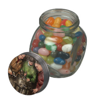 Car Mechanic - In a mothers care 1900 Jelly Belly Candy Jars