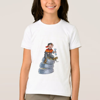 Car Mechanic Kid's T-shirt