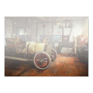 Car Mechanic - The overhaul 1915 Card