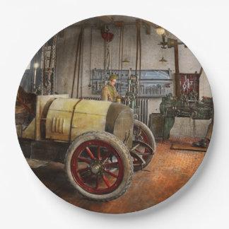 Car Mechanic - The overhaul 1915 Paper Plate