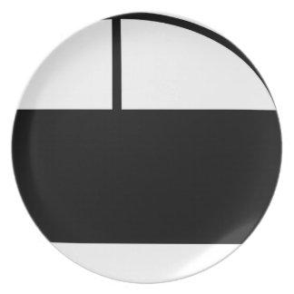 Car Melamine Plate