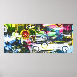 Car Montage Print