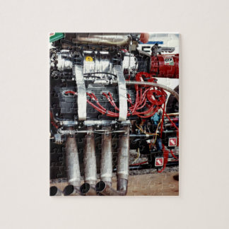 Car Motor From The Cajun National's Jigsaw Puzzle