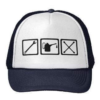Car - motor mechanic trucker hat