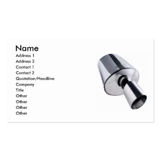 Car Muffler Business Card