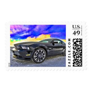 Car Mustang Stamps
