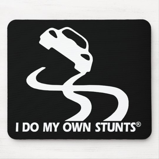Car My Own Stunts Mouse Pad