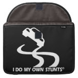 Car My Own Stunts Sleeves For MacBook Pro