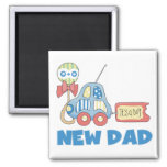 Car New Dad It's a Boy T-shirts and Gifts Magnets
