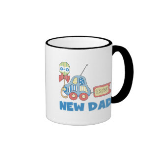 Car New Dad It's a Boy T-shirts and Gifts Coffee Mug