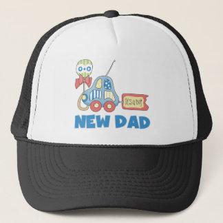 Car New Dad It's a Boy Trucker Hat