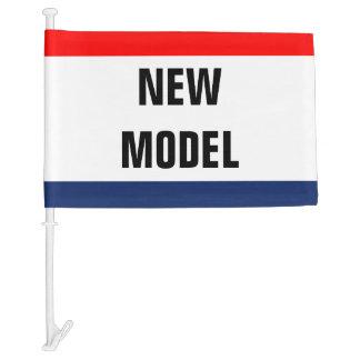 Car New Model Promo Signage Customizable Car Flag