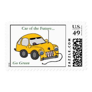 Car of the Future Stamp