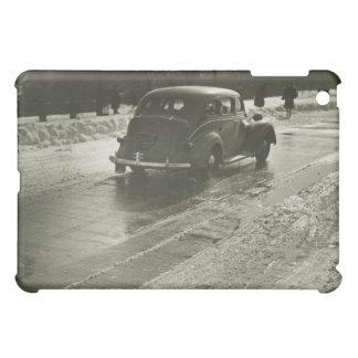 Car on the Road iPad Mini Cover