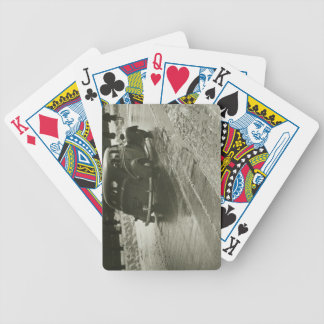 Car on the Road Bicycle Playing Cards