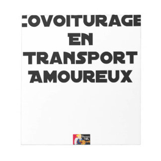 CAR-POOLING IN AMOROUS TRANSPORT - Word games Notepad