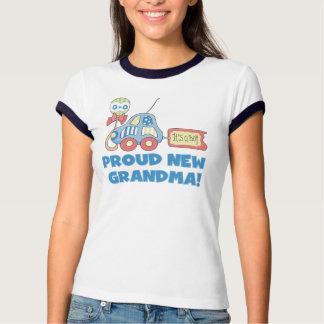 Car Proud New Grandma It's a Boy T-Shirt