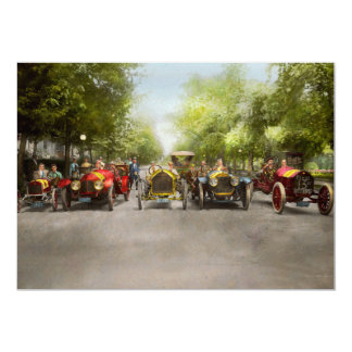 Car - Race - Hold on to your hats 1915 Card