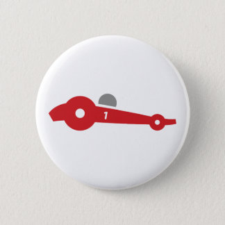 Car Race Pinback Button