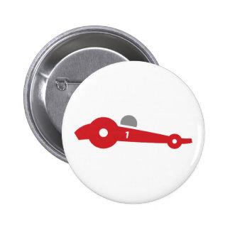 Car Race Pinback Button