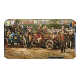 Car - Race - The end of a long journey 1906 iPod Touch Case