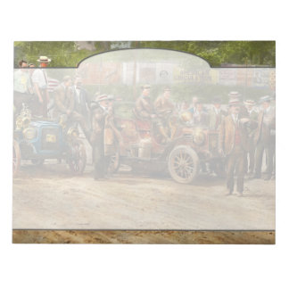 Car - Race - The end of a long journey 1906 Notepad