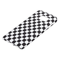 Car Racing / Chess Pattern   your backgr. & ideas Samsung Galaxy S7 Case