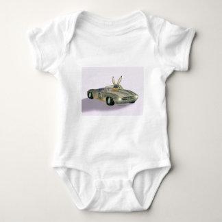 Car Racing Rabbit Baby Bodysuit