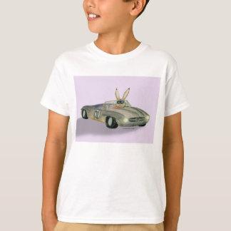 Car Racing Rabbit T-Shirt