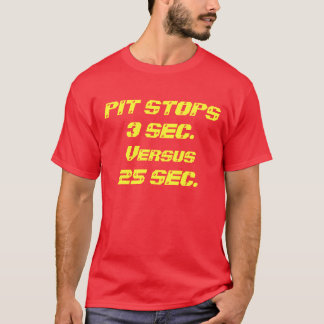 Car Racing which is better? T-Shirt