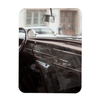 car rectangular photo magnet