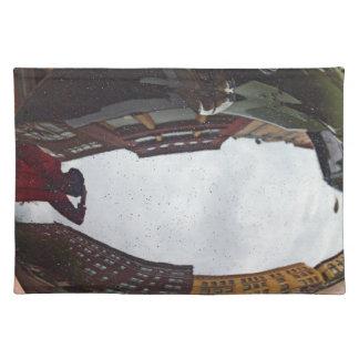 Car reflection place mat