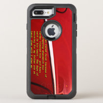 Car reflection with text iPhone 8 Plus/7 case