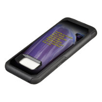 Car reflection with text Samsung Galaxy S8 case