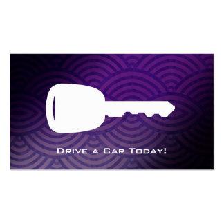 Car Rental Business cards