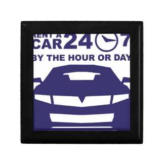 Car rentals by the hour or day 24-7 jewelry box