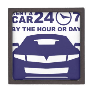 Car rentals by the hour or day 24-7 keepsake box