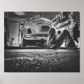 Car Repair Mechanic Poster