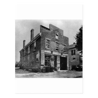 Car Repair & Tire Shop: 1940s Postcard