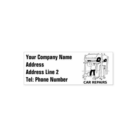 Car Repairs Stamp