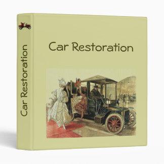 CAR RESTORATION 2 fv 3 Ring Binder