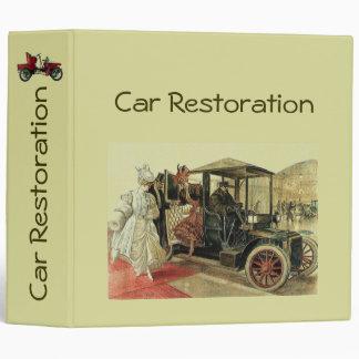 CAR RESTORATION 2 fv Binder
