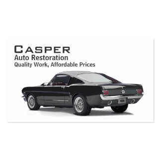 Car Restoration Business Card