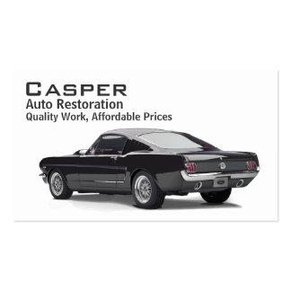 Car Restoration Business Card Templates