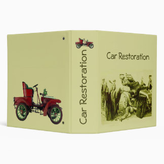 CAR RESTORATION fv 3 Ring Binder