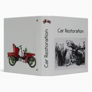 CAR RESTORATION fv Binder