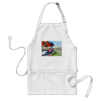 Car Ride at the Fair Adult Apron