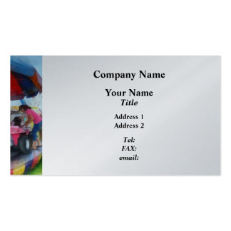 Car Ride at the Fair Double-Sided Standard Business Cards (Pack Of 100)