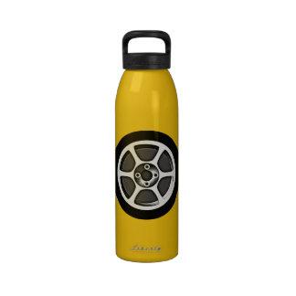 Car Rim & Tire Reusable Water Bottle